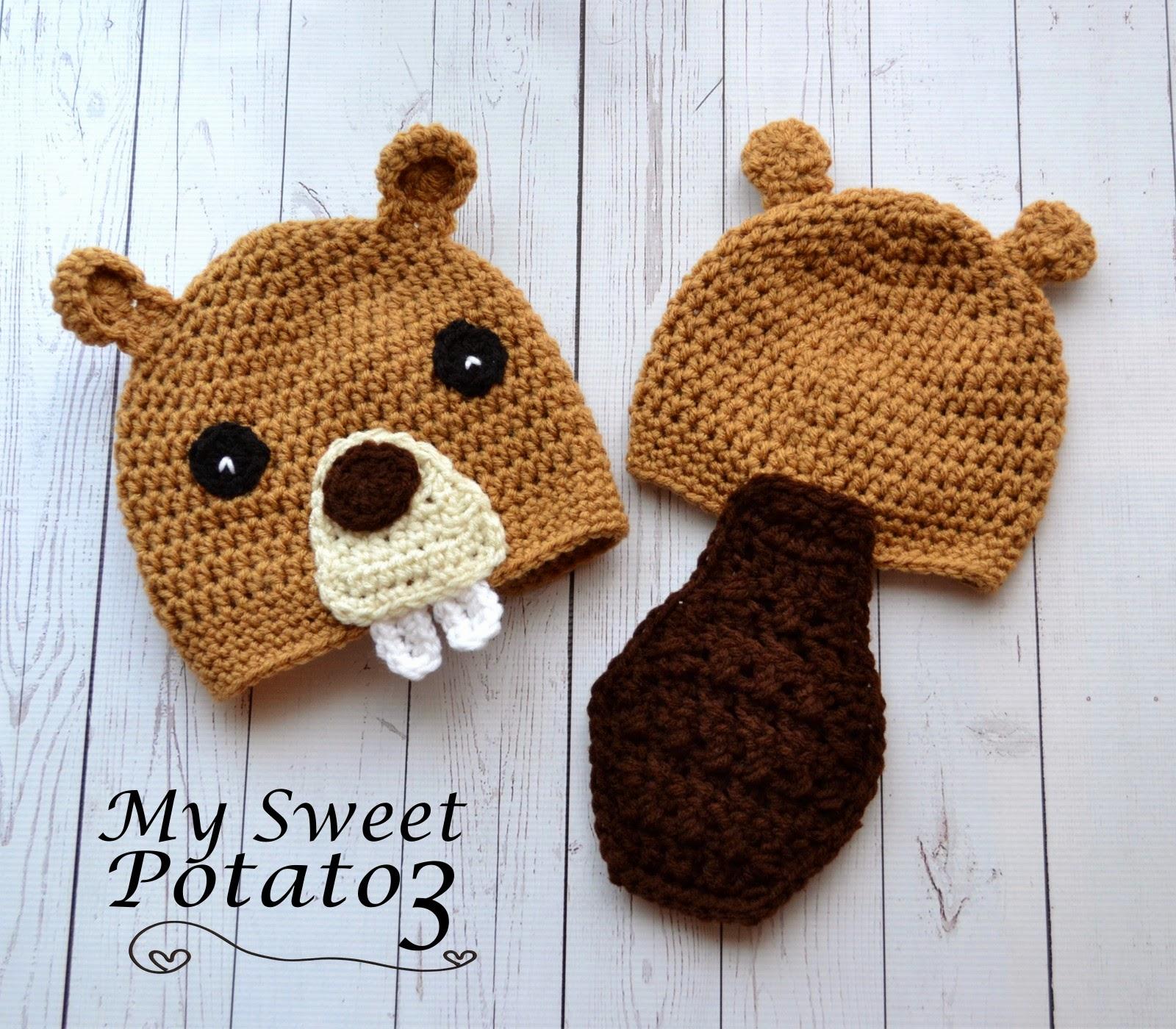 Beaver Hat Pattern Release - Sweet Potato 3