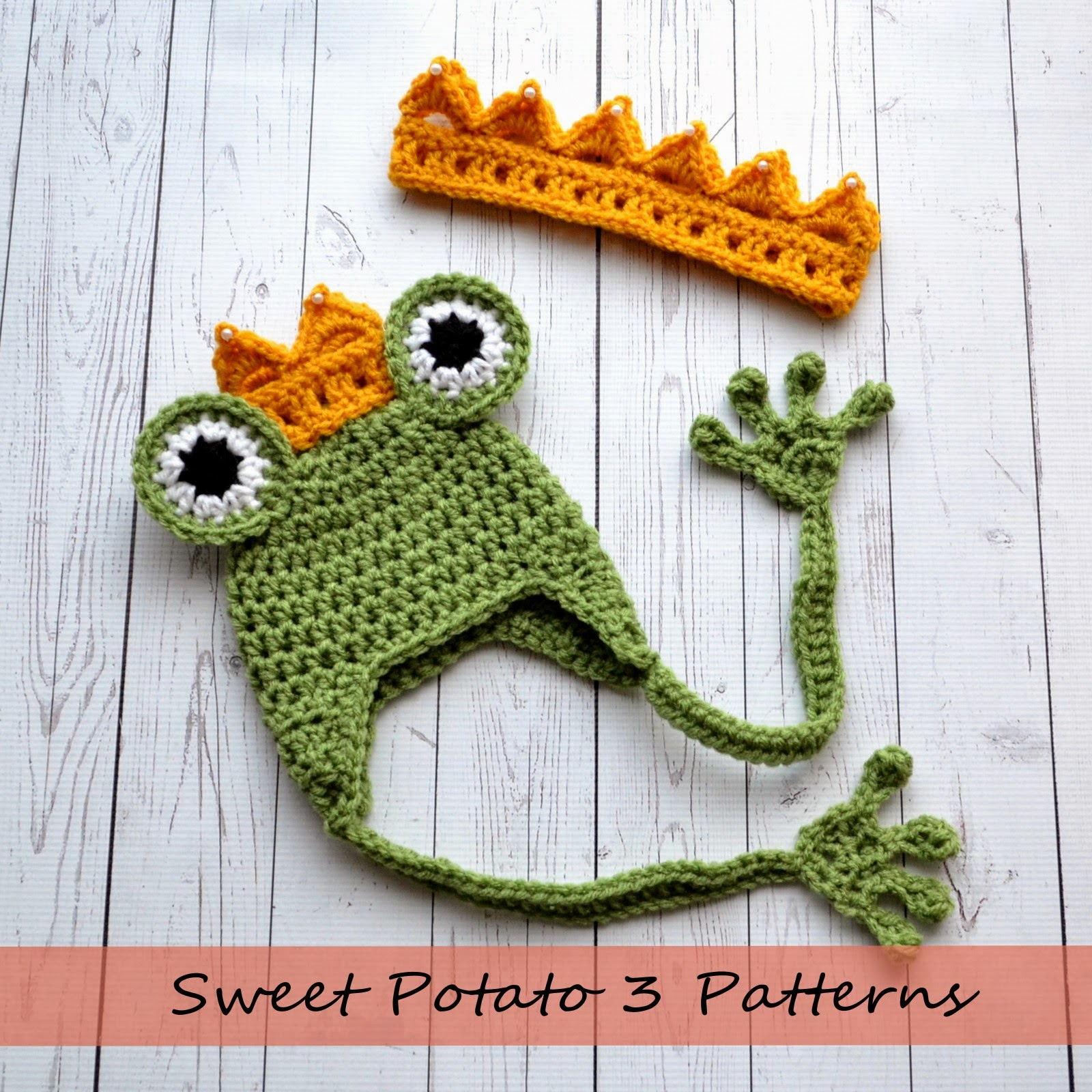 princess and the frog crochet pattern release sweet potato 3. Black Bedroom Furniture Sets. Home Design Ideas