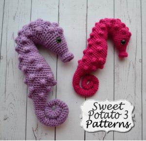pattern-005-seahors