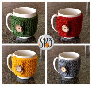 Coffee Cozy Sweater Wrap Pattern