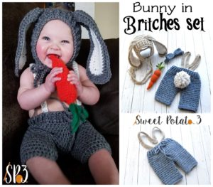 Bunny in Britches Set