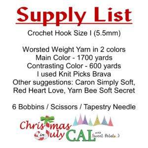 CAL supply list