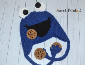 Frog Hat Pattern Cookie Monster
