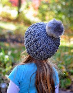 Chunky Double Cable Beanie