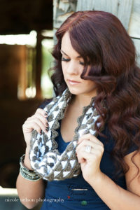 Mountain Lace Infinity Scarf